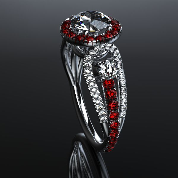 Custom Designed Ring by Saxxon Jewelers
